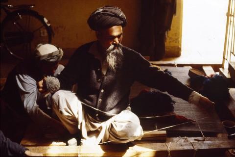 A turkoman weaver
