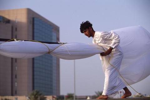 Test of a sail, Dubai